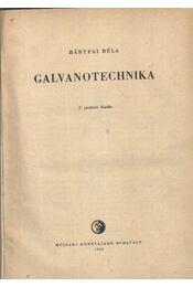 Galvanotechnika - Régikönyvek
