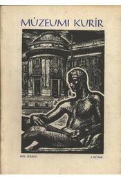 Múzeumi kurír - Régikönyvek