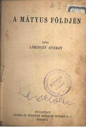 A Mátyus földjén - Régikönyvek