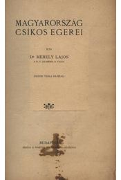 Magyarország csíkos egerei - Régikönyvek