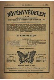 Növényvédelem 1930. teljes évfolyam - Régikönyvek