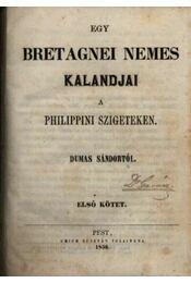 Egy bretagnei nemes kalandjai a Philippini szigeteken - Régikönyvek
