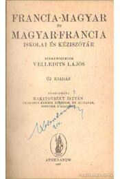 Francia-magyar és magyar-francia szótár 1947 - Régikönyvek