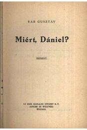 Miért, Dániel? - Régikönyvek