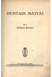 Hunyadi Mátyás - Régikönyvek