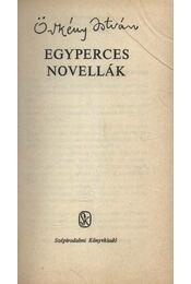 Egyperces novellák - Régikönyvek