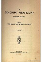 A sehonnai kisasszony I-II kötet - Régikönyvek