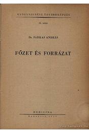 Főzet és forrázat - Régikönyvek