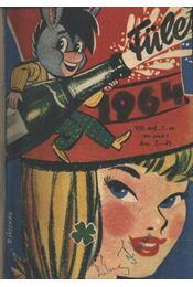 Füles 1964. évf. (teljes) I-II. kötet - Régikönyvek