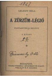 A Zürzüm-légió - Régikönyvek