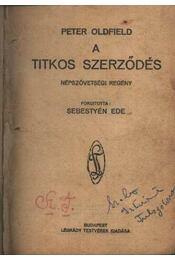 A titkos szerződés - Régikönyvek