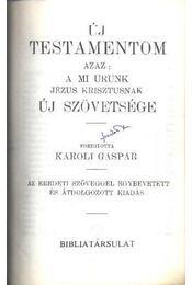 Új testamentom / A zsoltárok könyve - Régikönyvek