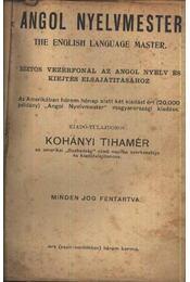 Angol nyelvmester - Régikönyvek