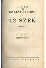 12 szék - Régikönyvek