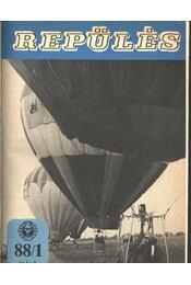 Repülés 1988-89. évfolyamok - Régikönyvek