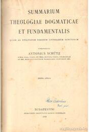 Summarium Theologiae dogmaticae et Fundamentalis - Régikönyvek