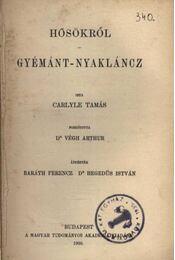Hősökről - Gyémánt nyaklánc - Régikönyvek