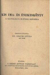 Kis Ima és énekeskönyv - Régikönyvek