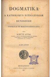 Dogmatika (első kötet) - Régikönyvek