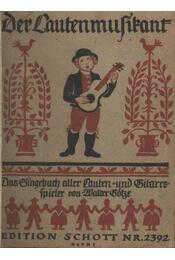 Der Lautenmuzikant - Régikönyvek