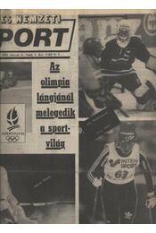 Képes Nemzeti Sport 1992. év - Régikönyvek