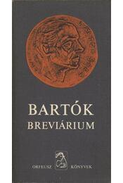 Bartók breviárium - Régikönyvek