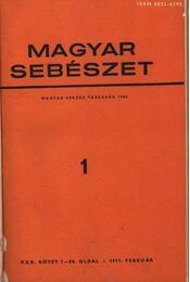 Magyar sebészet 1977/78 - Régikönyvek
