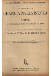 Francia nyelviskola I-II-III. rész - Régikönyvek