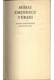 Mihai Eminescu versei - Régikönyvek