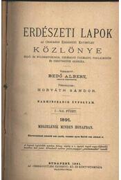 Erdészeti Lapok Közlönye 1891. I. - Régikönyvek