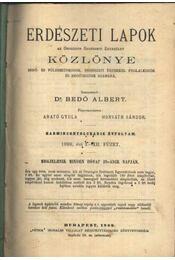 Erdészeti Lapok Közlönye 1899. II. - Régikönyvek