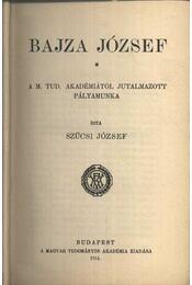 Bajza József - Régikönyvek