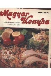 Magyar Konyha II-III. évf. (teljes) 1978-1979 - Régikönyvek