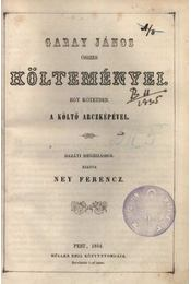 Garay János összes költeményei - Régikönyvek