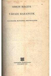 Váradi harangok - Régikönyvek