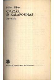 Császár és kalaposinas - Régikönyvek