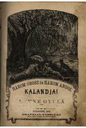Három orosz és három angol kalandjai - Régikönyvek