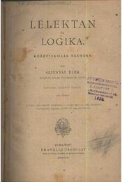 Lélektan és logika - Régikönyvek
