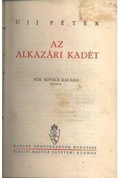 Az alkazári kadét - Régikönyvek