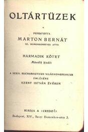 Oltártüzek III. kötet - Régikönyvek