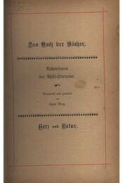 Das Buch der Bücher - Régikönyvek