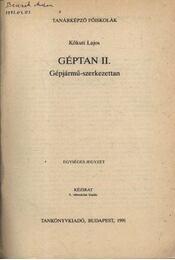 Géptan II. - Régikönyvek