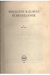 Elbeszélések X. (Kritikai kiadás) - Régikönyvek