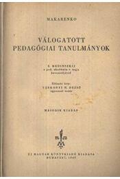 Válogatott pedegógiai tanulmányok - Régikönyvek