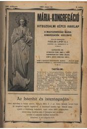 Mária-kongregáció 1924 május-1926 június - Régikönyvek
