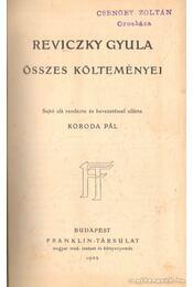 Reviczky Gyula összes költeményei - Régikönyvek