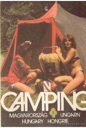 Camping Magyarország (térkép) - Régikönyvek