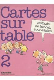 Cartes sur table 2 - Richterich, René, Suter, Brigitte - Régikönyvek