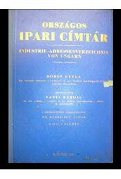 Országos ipari címtár I-II. - Régikönyvek