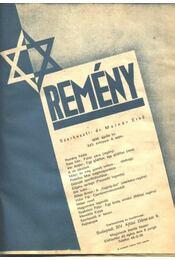 Remény 1936 - Régikönyvek